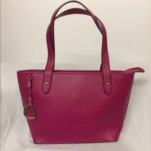 Lauren Ralph Lauren Faux Leather Tote Bag